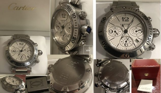 Часы Cartier de Pasha