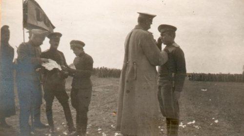 Награждение Георгиевским крестом