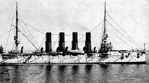 Крейсер «Варяг» в июне 1901 года