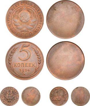 Набор пробных монет 1924 года, Бирмингемский монетный двор