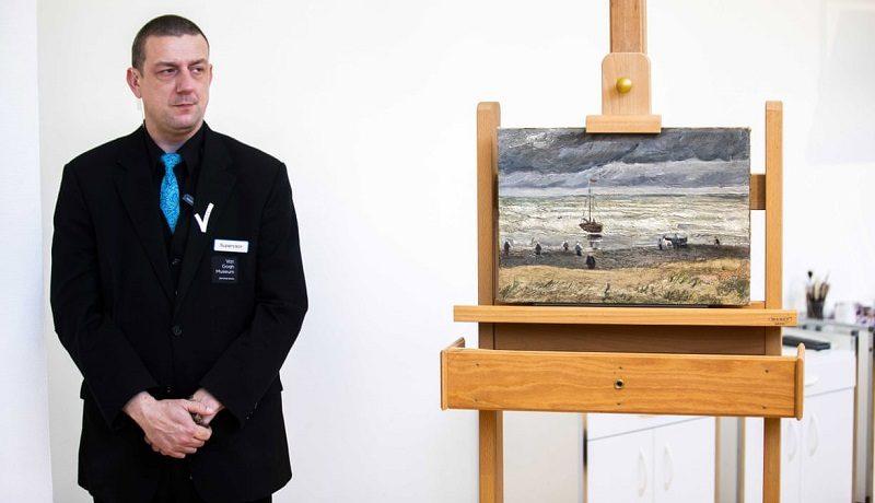 """картина Винсента Ван Гога """"Вид на море у Схевенингена"""""""