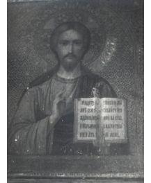 Ікона СПАСИТЕЛЬ, 19-20 ст, зникнення у власника 14.01.2005 в Миколаївській області