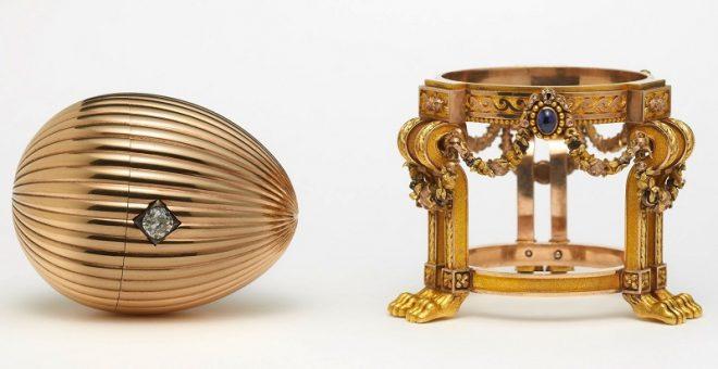 1887 год «Золотое яйцо с часами»