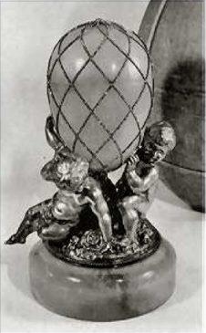 1892 год - пасхальное яйцо«Алмазная сетка»