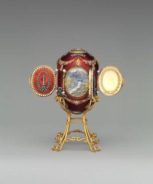 1893 год - пасхальное яйцо «Кавказ»