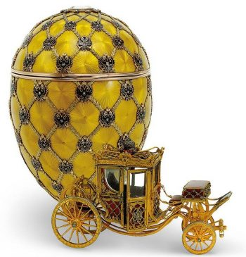 1897 год - пасхальное яйцо «Коронационное»