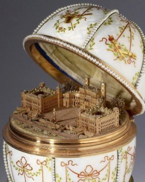 1901 год - яйцо пасхальное Гатчинский дворец