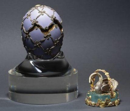 1906 год - пасхальное яйцо «Лебедь»