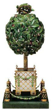 1911 год - пасхальное яйцо Лавровое дерево