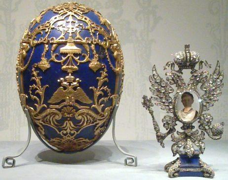 1912 год - императорское пасхальное яйцо «Царевич» («Цесаревич»)