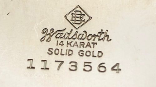 Ulysse Nardin белое золото 14 карат