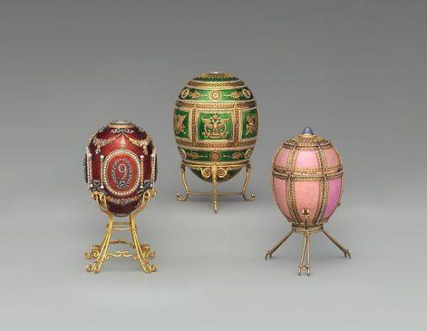 Императорские пасхальные яйца Фаберже из Фонда Матильды Геддингс Грей в Метрополитен-музеее