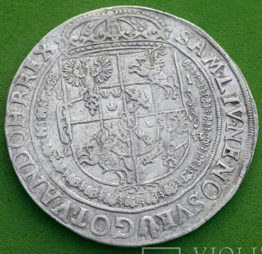 Коронный талер 1633 г. Владислава 4