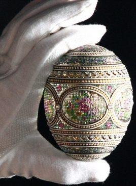 1914 год - императорское пасхальное яйцо «Мозаика»