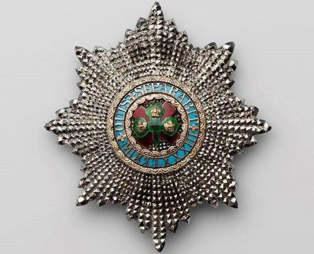 Звезда ордена Святого Патрика