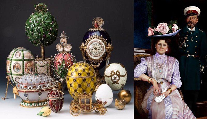 Не простые, а золотые. Царские подарки на Пасху - яйца Фаберже. часть 1