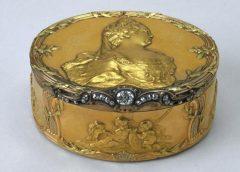 Табакерка, Франция, Париж, 1757-1758 годы