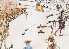 """Похищенную гравюру Сальвадора Дали """"Горящий жираф"""" пока не нашли"""