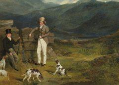 """Картина """"Джон Баркер из Лейтон-Холла, Йоркшир, и Джон Бэтсби"""" кисти Джона Фредерика Херринга"""