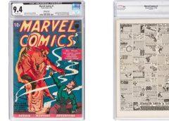 Самый первый комикс Marvel продали за $1,26 млн