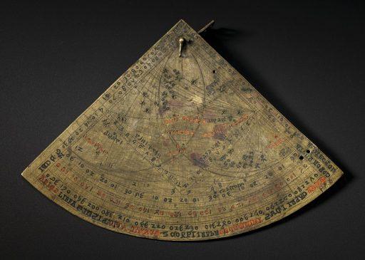 Средневековая астролябия, вероятно Южная Франция, 1291-1310