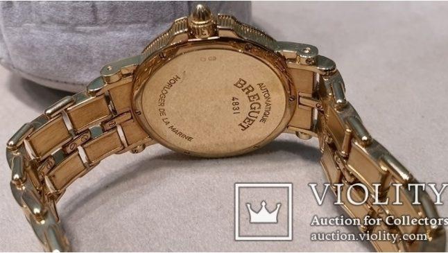 Часы оригинал Breguet, Horloger de la Marine, Золото 750 пробы