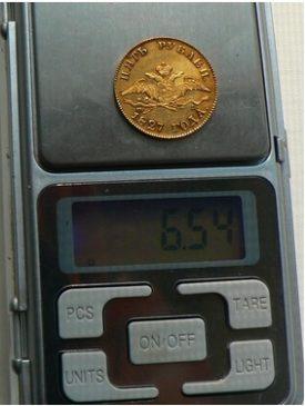 5 рублей 1827 года СПБ-ПД