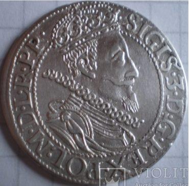 Гданьский орт 1610 года