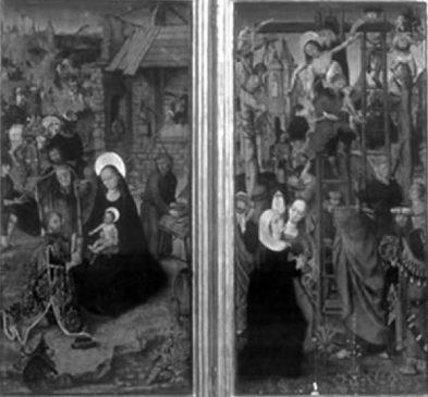 """""""Винтерфельский диптих"""" неизвестного голландского художника XV века"""