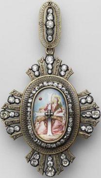 Крест Ордена Святой Екатерины I степени. Россия, вторая половина XIX века