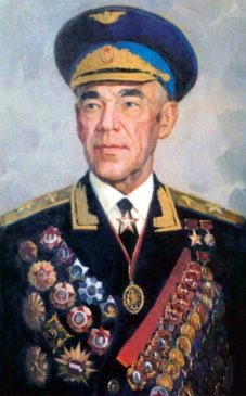 Маршал авиации Владимир Судец