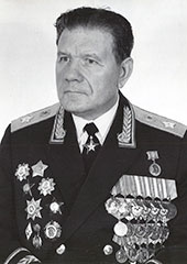 Генерал армии Иван Шавров
