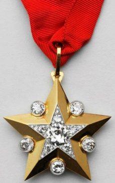 «Маршальская звезда» Иосифа Сталина. СССР, 1943 год. Хранится в Музеях Московского Кремля