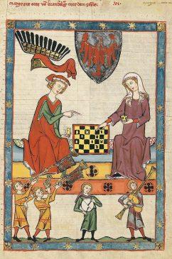 Meister der Manessischen Liederhandschrift Germany, c.1320