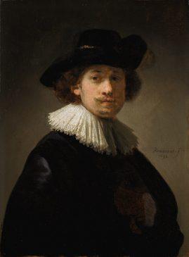 Автопортрет Рембрандта Харменса ван Рейна(1606-1669)