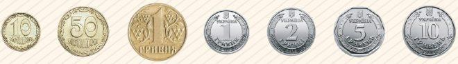 Монеты, которые остаются в наличном обращении