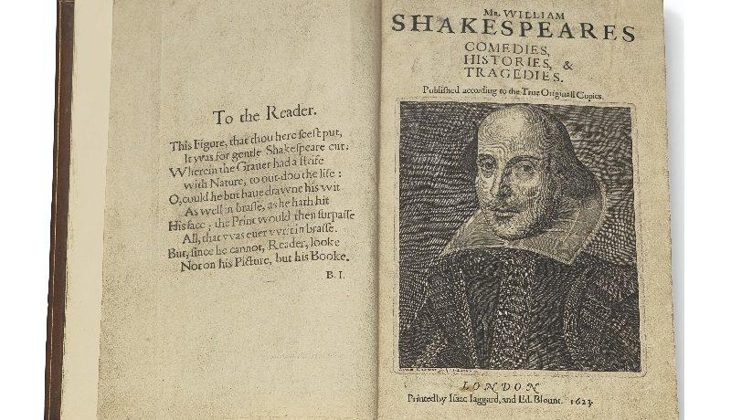 Первое собрание пьес Шекспира продали за $9,978 млн