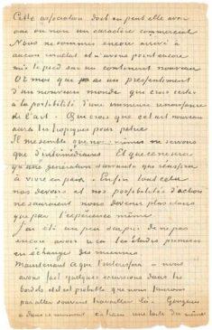 Совместное письмо Ван Гога и Гогена о борделях