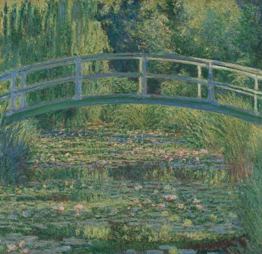 The Water-Lily Pond, 1899, Национальная галерея, Лондон