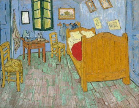 """Ван Гог """"Спальня в Арле"""" (1889)"""