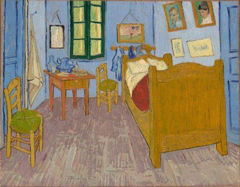 """Ван Гог """"Спальня в Арле"""" (31 декабря 1888)"""
