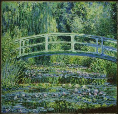 Water Lilies and Japanese Bridge, 1899, Художественный музей Принстонского университета