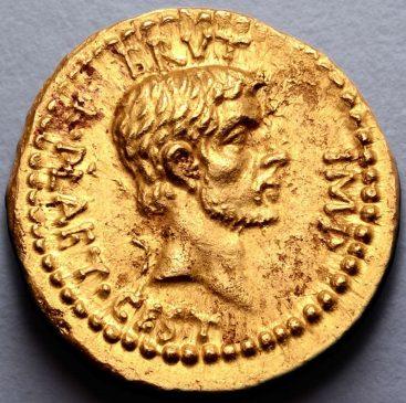 Ауреус Брута, отчеканенный в честь убийства Юлия Цезаря, продали за 2,7 млн фунтов стерлингов