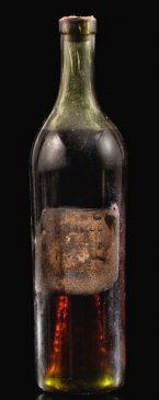 Бутылка коньяка Gautier 1762 года