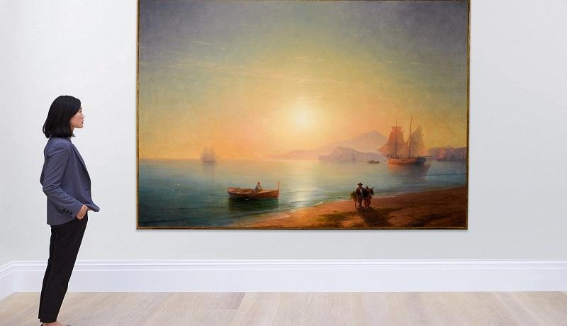 """""""Неаполитанский залив"""" Айвазовского продали за 2,3 млн фунтов стерлингов"""
