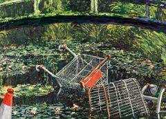 """Картина Бэнкси """"Покажи мне Моне"""" ушла с аукциона за 7,55 млн фунтов стерлингов"""
