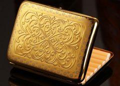 Золотые портсигары - каталог