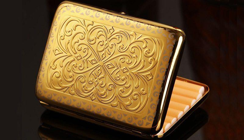 Золотые портсигары — каталог