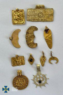 Скифское золото: CБУ перехватила на границе уникальные артефакты